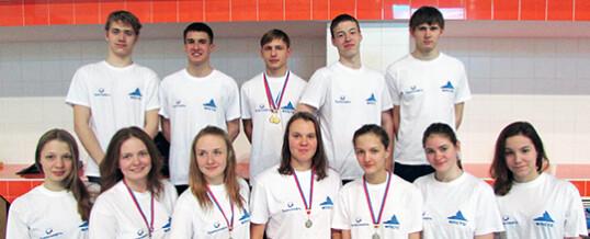 Первенство России по подводному спорту(плавание в ластах)