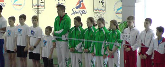 Финальные соревнования на кубок Сибири по плаванию