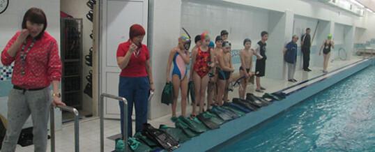 Соревнования  по плаванию в ластах, посвященные «Дню защитника Отечества».