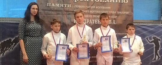 Сибирский региональный турнир по фехтованию на шпагах среди юношей и девушек