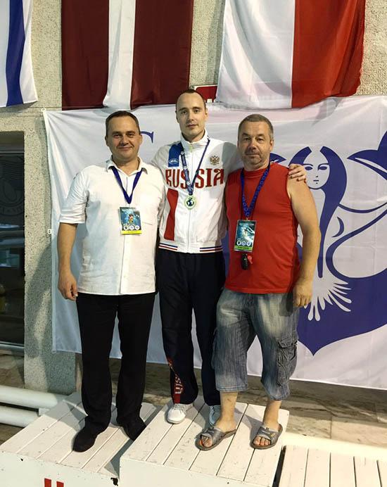 Аурелис Кинас,Иван Рожков, Игорь Сучков