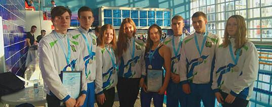 Всероссийские соревнования по подводному спорту (плавание в ластах)