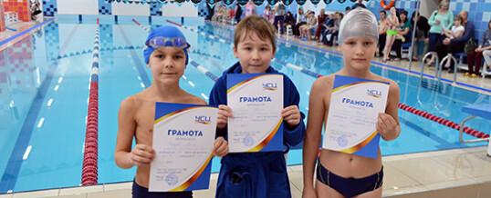 Соревнования по плаванию для новичков СК Аврора