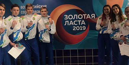 Всероссийские соревнования по подводному спорту «Золотая ласта»