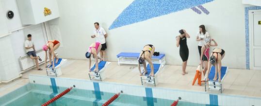 Соревнования по плаванию среди новичков