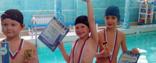 Итоговые соревнования по плаванию тренер – Лобазова М.А.