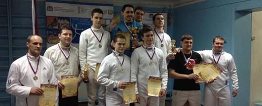 Чемпионат Сибирского Федерального округа по фехтованию на шпагах