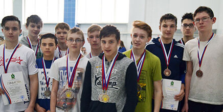 Первенства Города Томска по плаванию