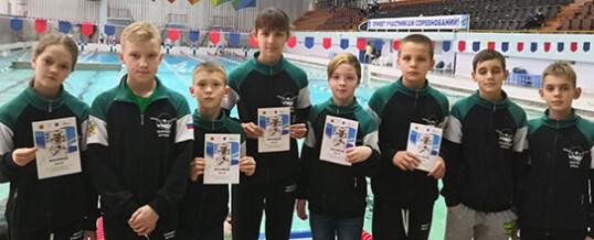 Областные соревнования по плаванию
